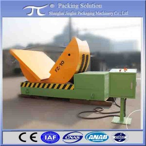 Motor drive steel coil tilter  for steel belts