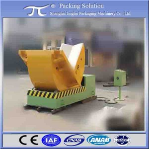 Customized turnover machine / Industrial coils tilter/copper coils upender See larger image Customized turnover machine / Industrial coils tilter/copper coils upender