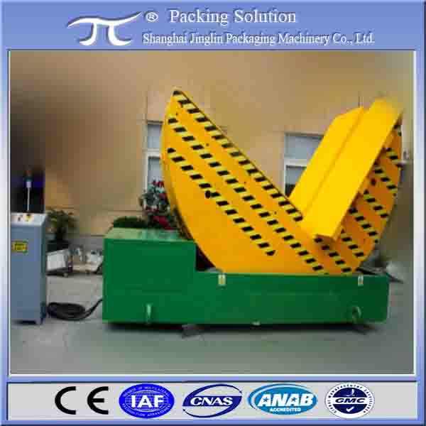 Special double chain drive electric upender coil tilter