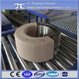 Horizontal Stretch Wrapper machines for bearing