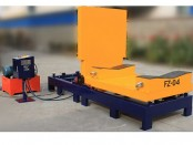 90 degree hydraulic coil tilter