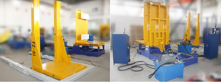 Hydraulic upender,coil tilter