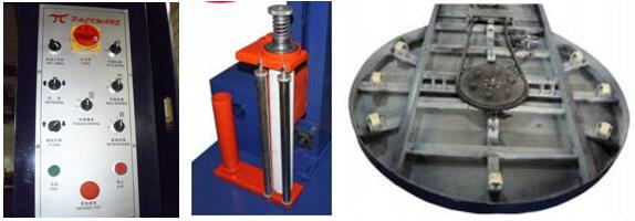 Components of pallet wrapping machine
