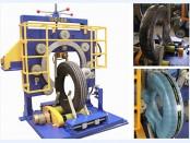 vertical tyre package machine, center pass model