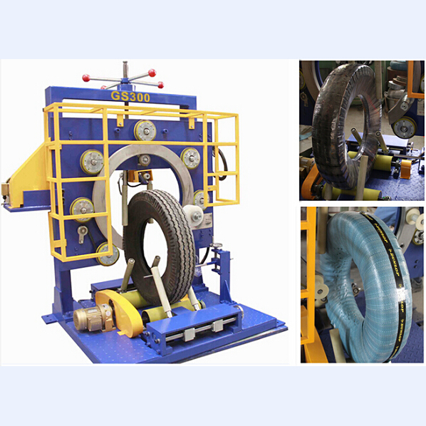 vertical tyre package machine, center pass model