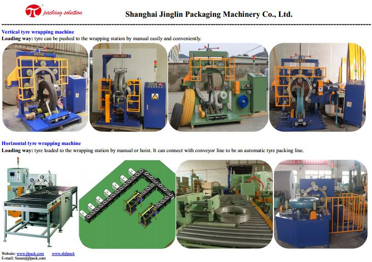 tyre wrapping machines