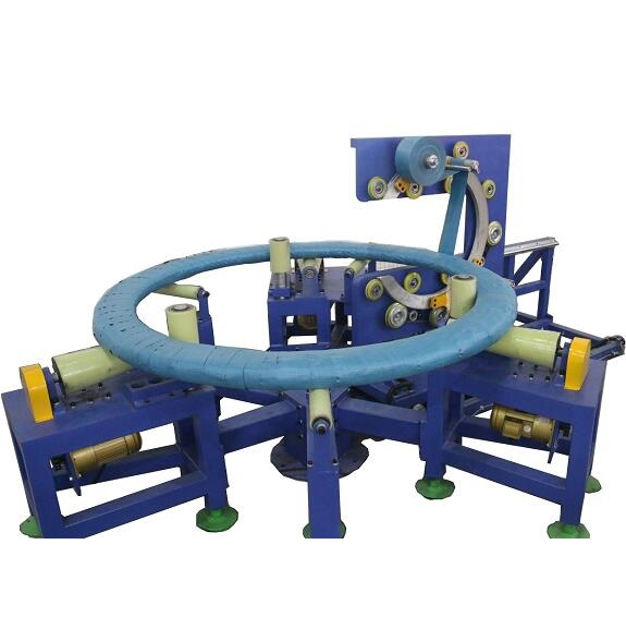 Steel wire coil wrapping machine GW2150