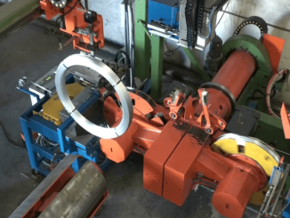 wire coiling machine