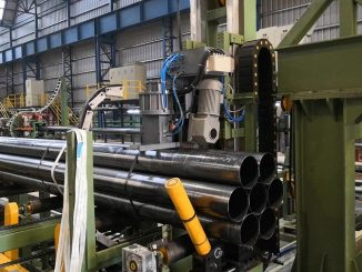steel tube strapping line