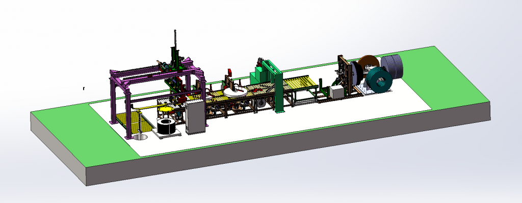 steel coil packing line manufacturer